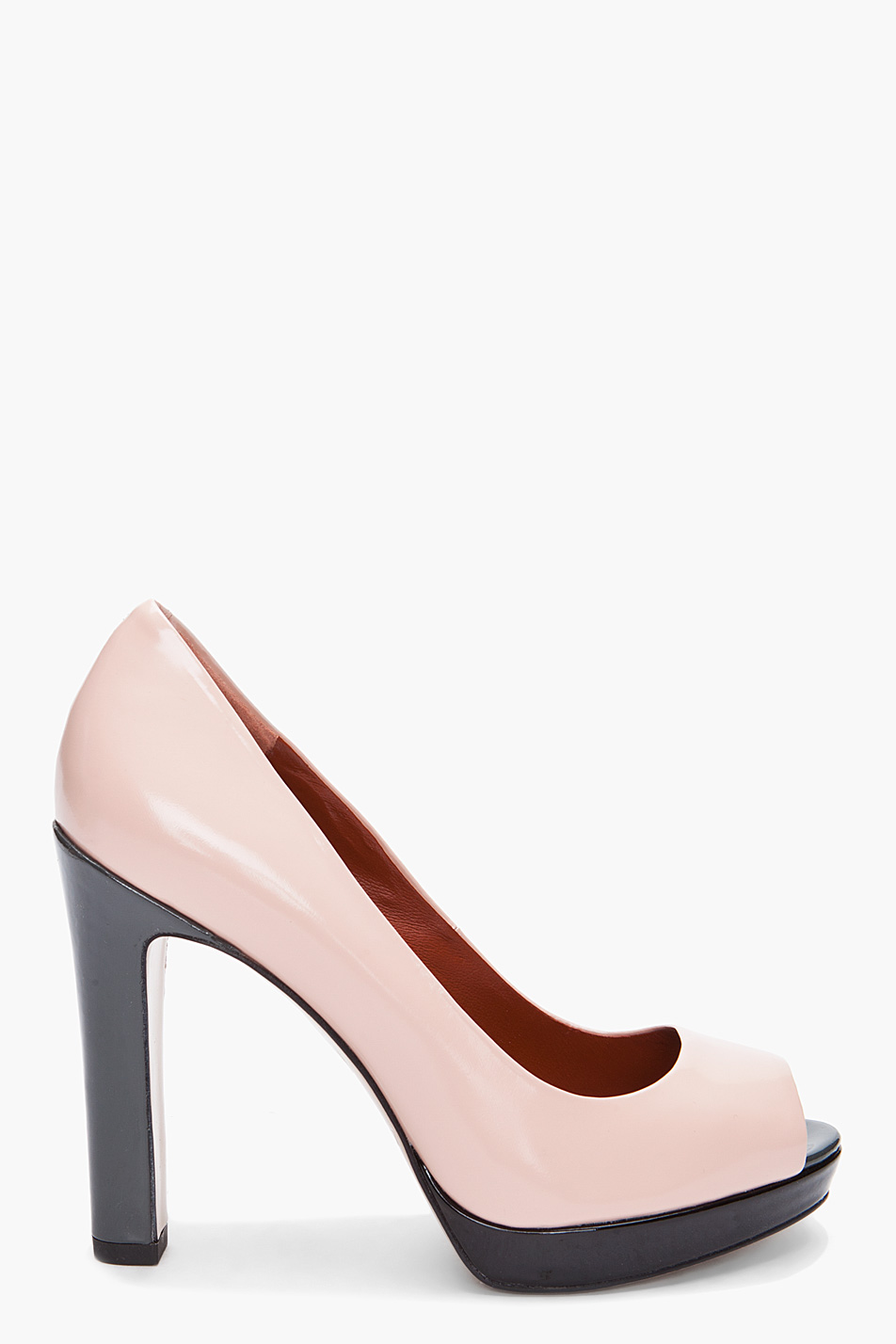 Marc by Marc Jacobs Peep-Toe Platform Pumps free shipping from china clearance collections L1XK1