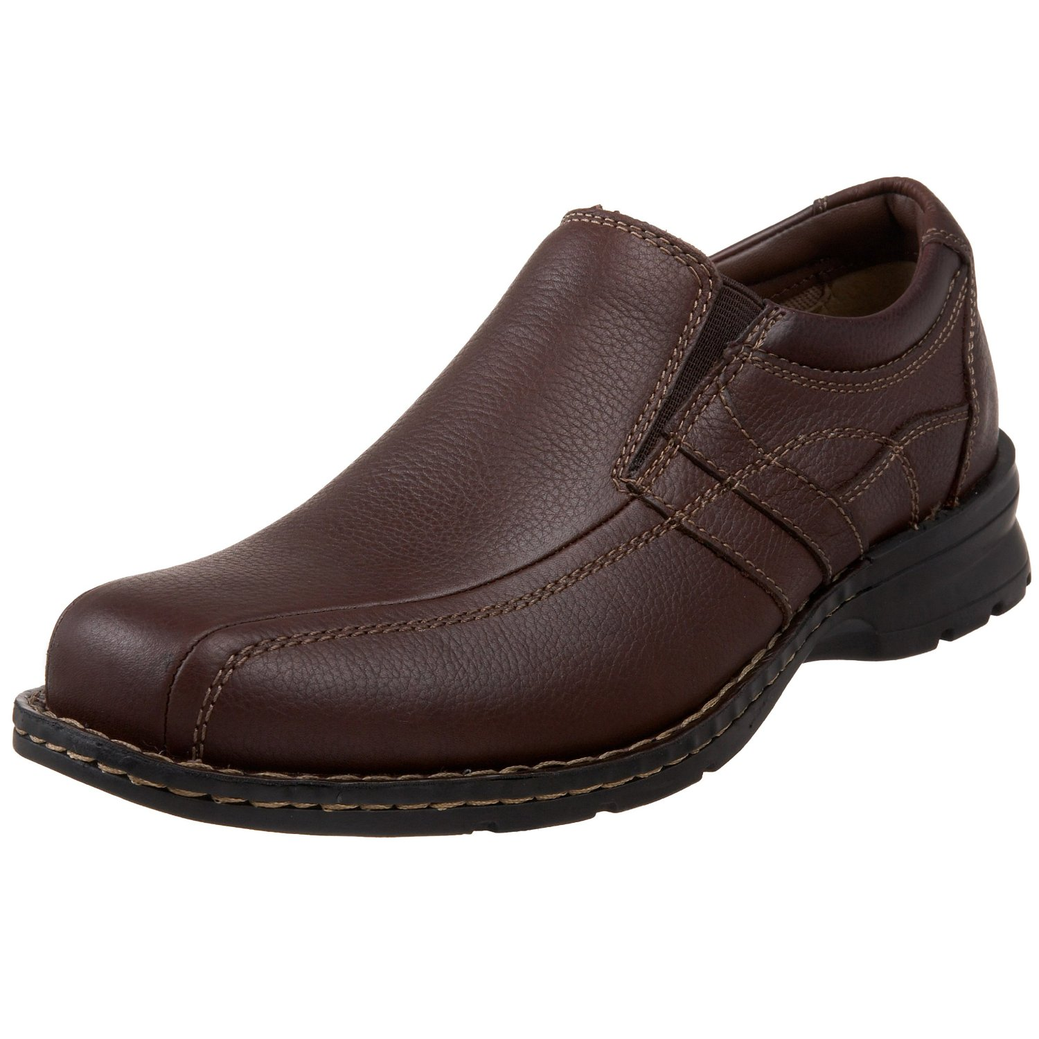 dockers caper slip on shoes in brown for bark lyst