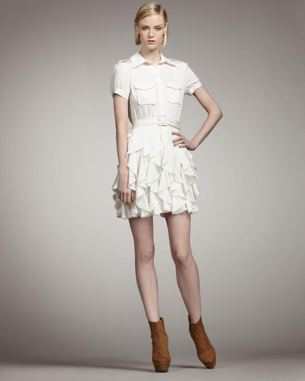 3db9e80a13d Rachel Zoe Joplin Ruffle-skirt Dress