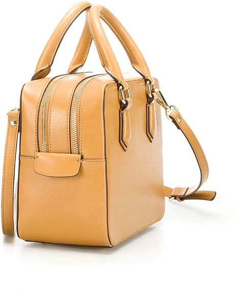 Zara Mini Bowling Bag Zara Mini Bowling Bag in