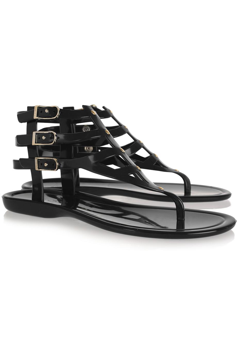 Sandals in black - Gallery