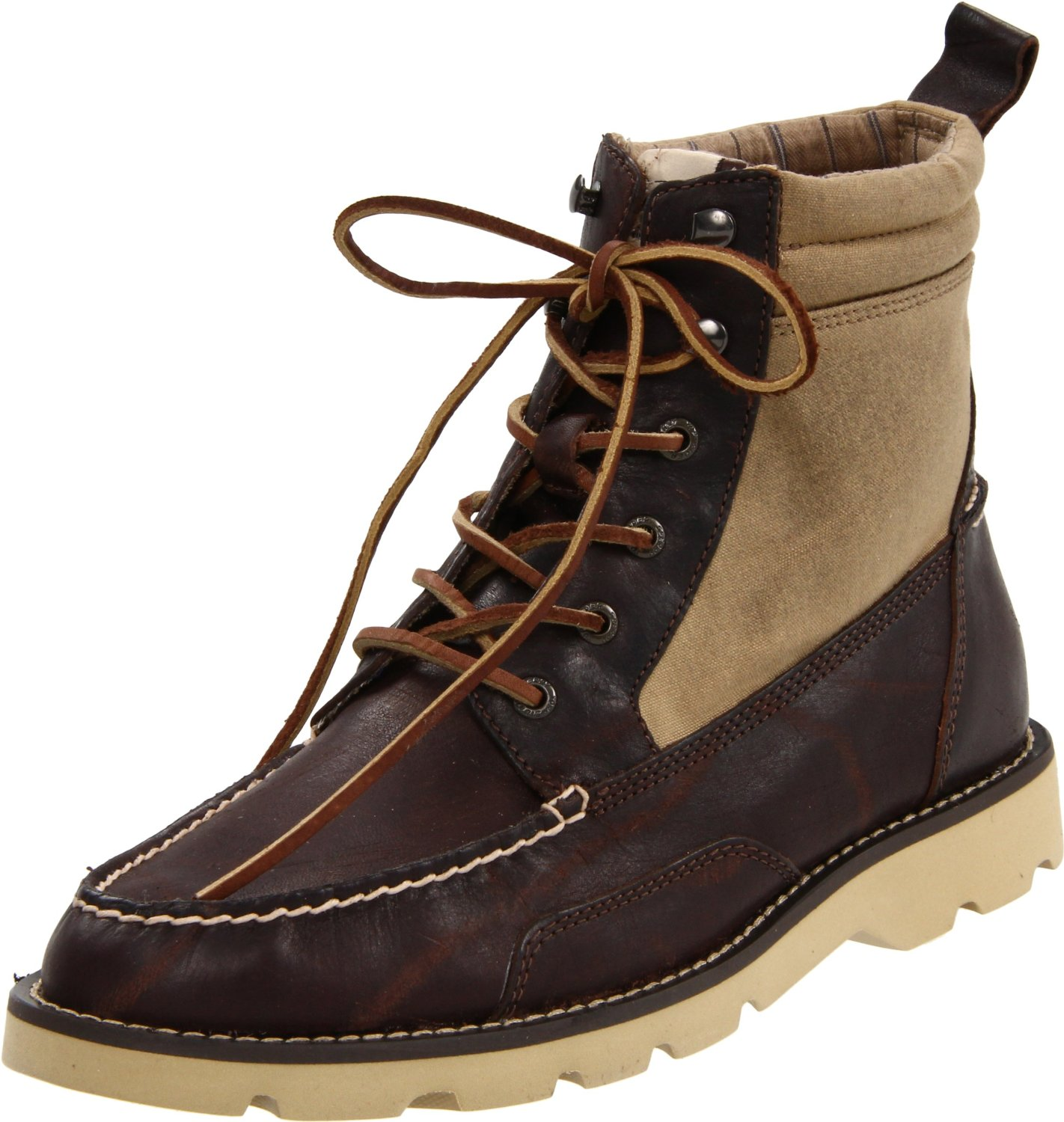 sperry top sider mens shipyard rigger boot in brown for