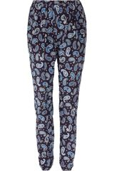 Stella McCartney Christine Paisley-print Silk Pants