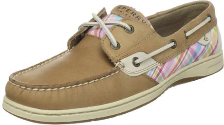 Sperry Top-sider Sperry Top-sider Womens Bluefish Boat Shoe in Beige