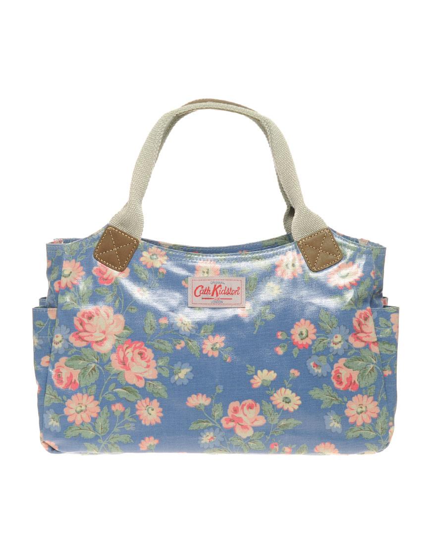 Cath Kidston Shoulder Bag In Floral (windsorroseblue) | Lyst