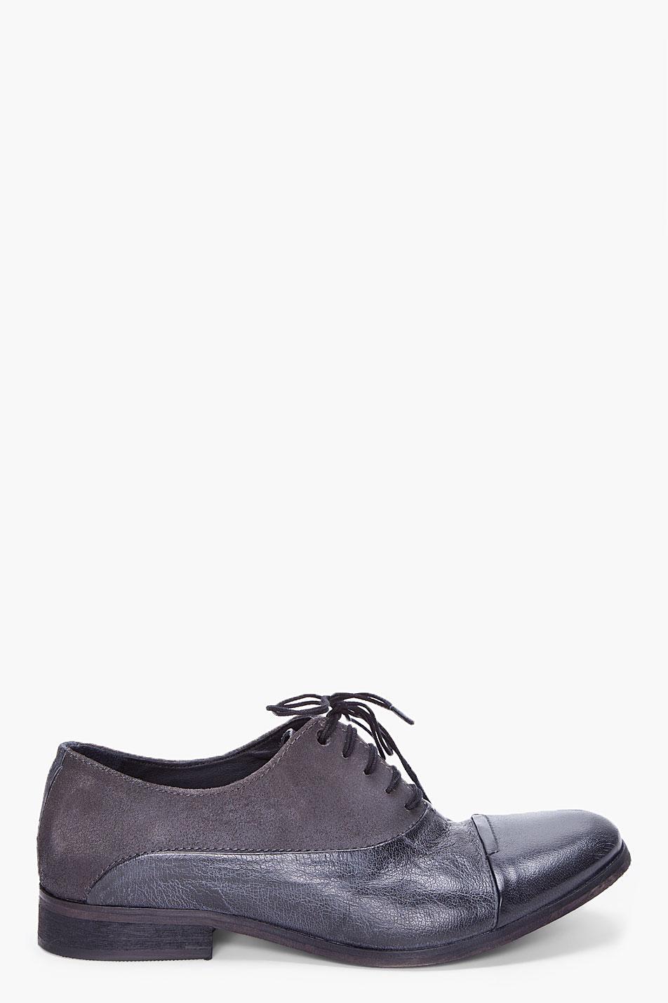 Diesel Chrom Dress Shoes In Black For Men Lyst