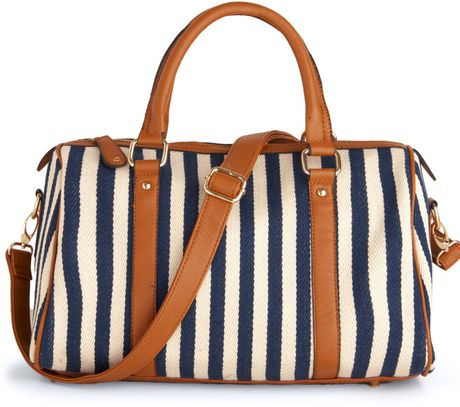 Modcloth A Coast Call Bag in Blue (navy) - Lyst