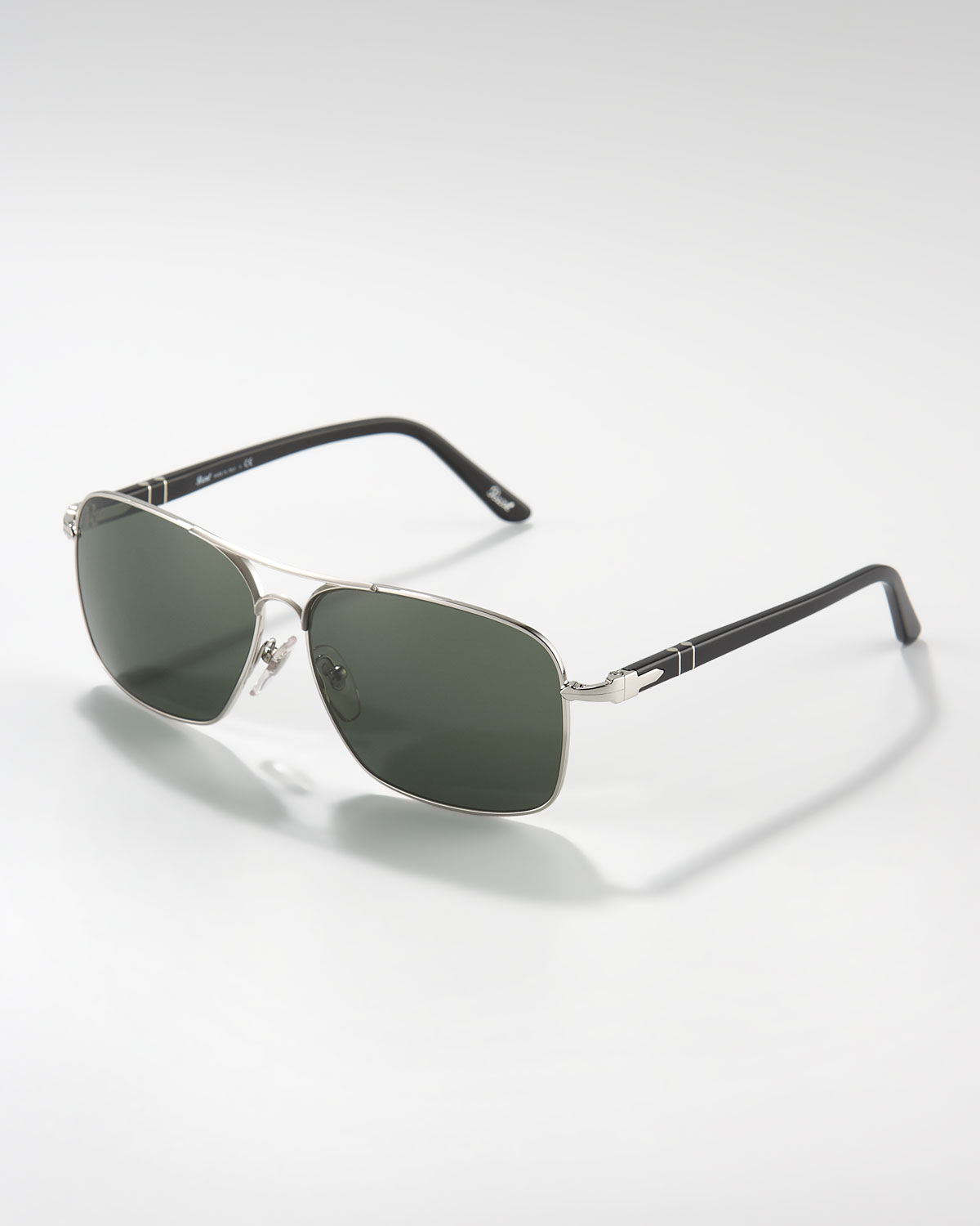 Oakley Radarlock Path >> Lyst - Persol Square Metal Sunglasses in Metallic for Men