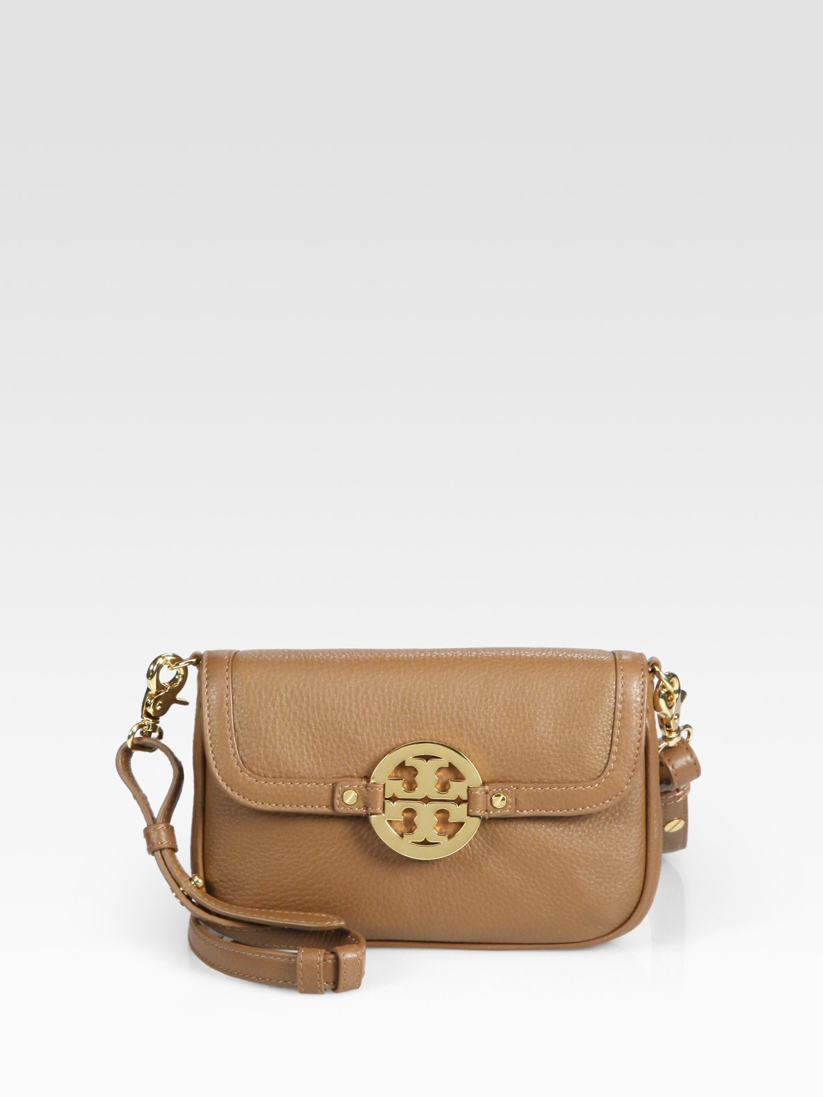 3805d03c410 Lyst - Tory Burch Amanda Crossbody Bag in Brown