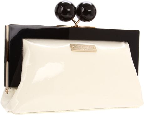 Kate Spade New York Hopper House Little Shyla Clutch in Beige (cream) - Lyst