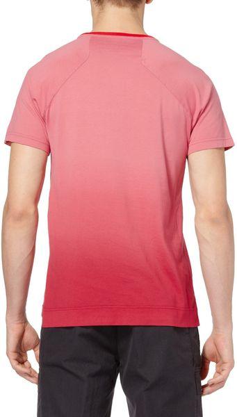 Balenciaga ombre effect cotton t shirt in red for men lyst for Balenciaga t shirt red