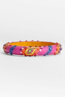 Cara Accessories Small Painted Paisley Bangle - Lyst