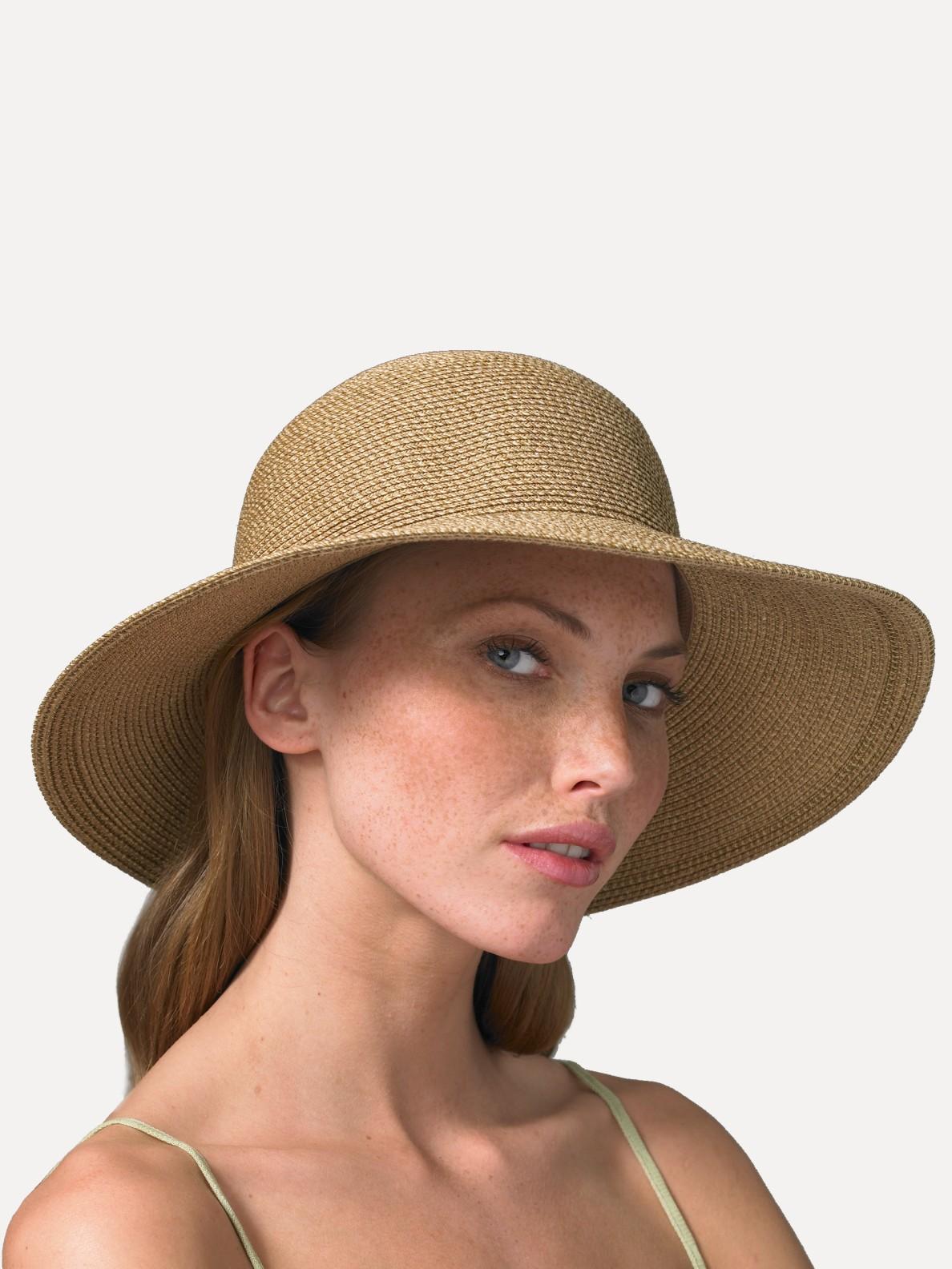 6985c24715c7f Eric Javits Floppy Hat in Natural - Lyst