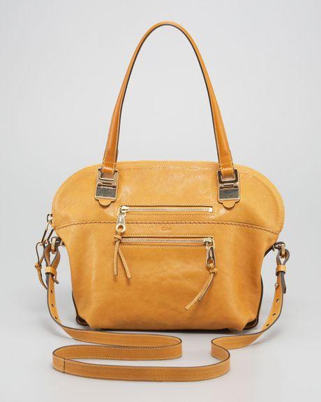Chloe Angie Medium Leather Shoulder Bag 62
