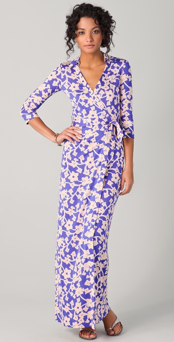 Dvf Abigail Maxi Dress View Fullscreen