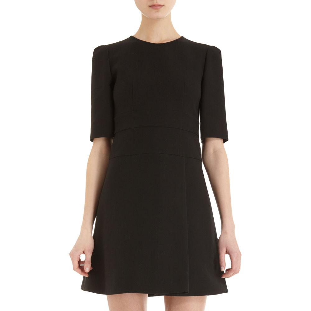 Marni Quarter Sleeve Dress In Black