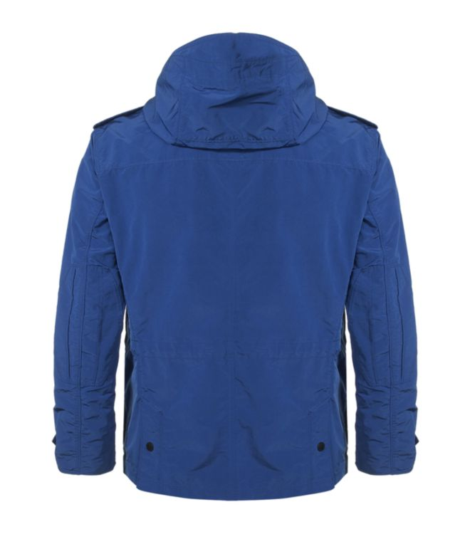 Hackett Hiking Jacket in Blue for Men