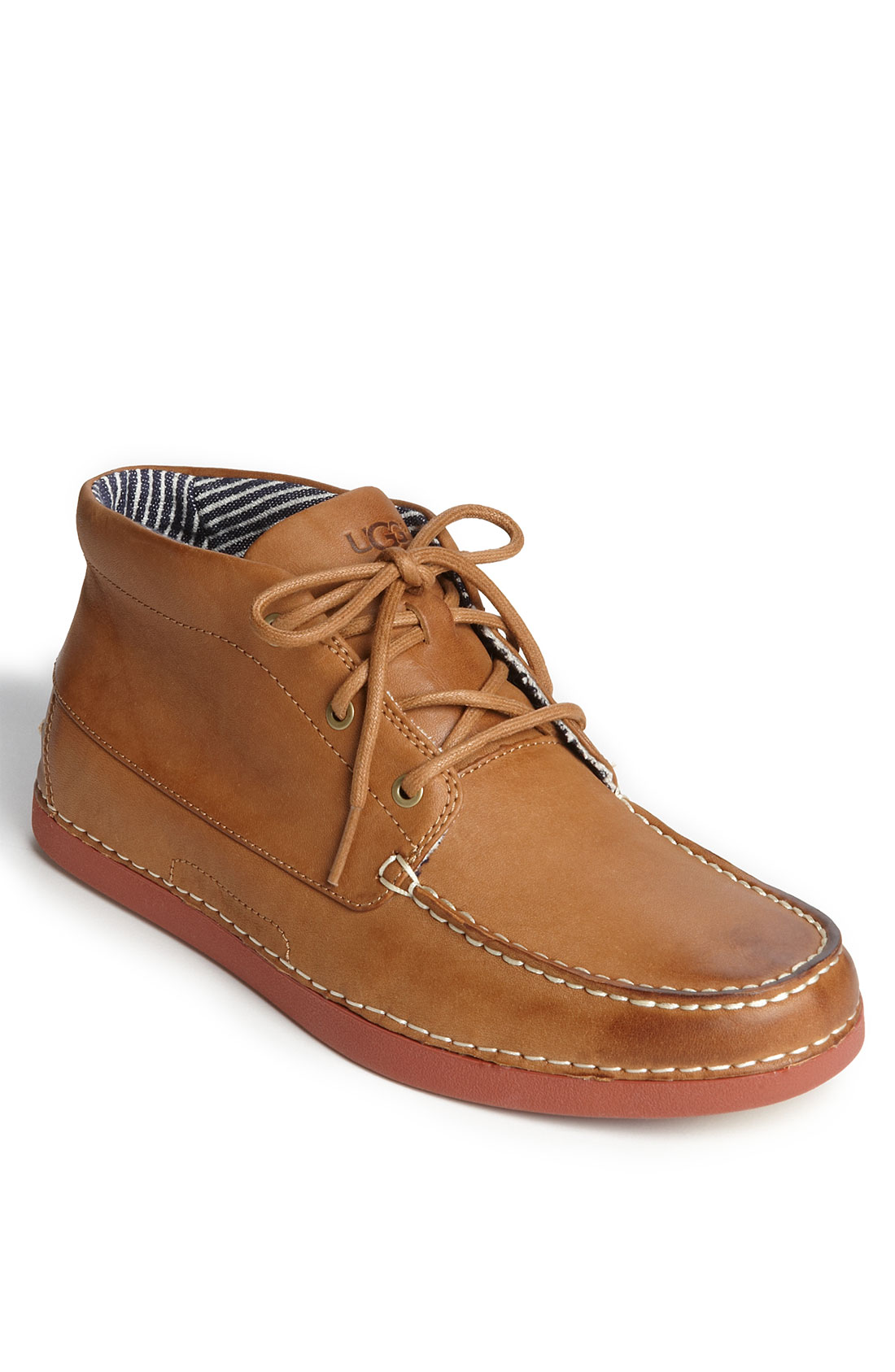 ugg kaldwell chukka boot in brown for chestnut lyst