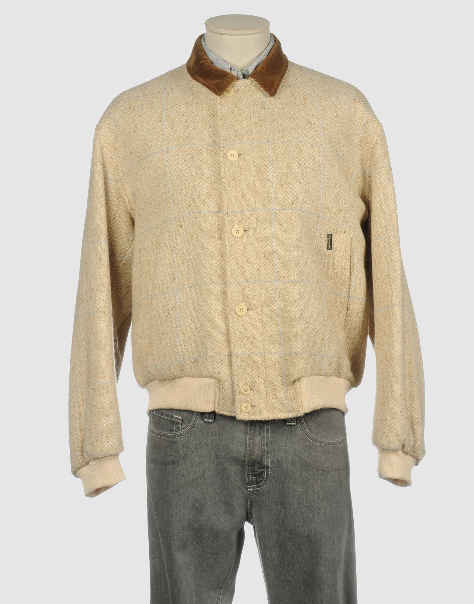 Faconnable Jacket In Beige For Men Lyst
