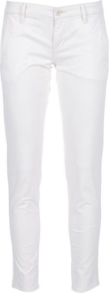 Ralph Lauren Skinny Ankle Trouser in White