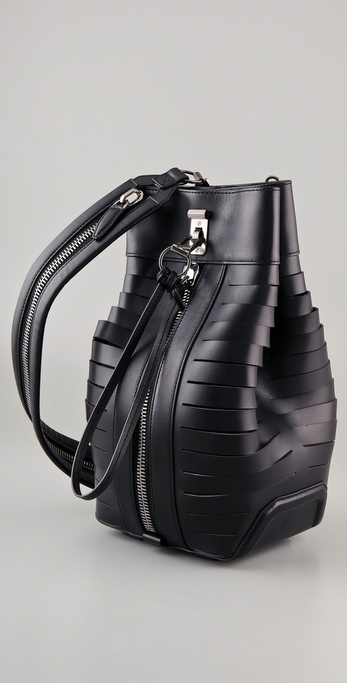 Lyst Alexander Wang Small Golf Bag In Black
