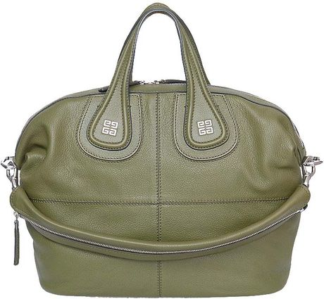 Givenchy Nightingale Medium Bag in Green