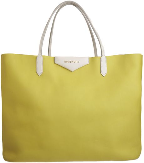 Givenchy Antigona Tote in Yellow