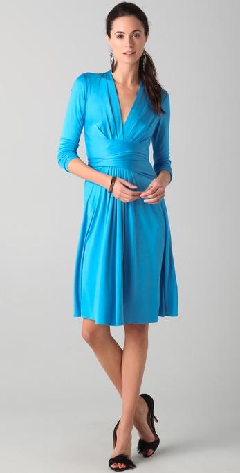 Faux Wrap Dresses