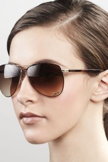 Gucci Sunglasses Aviator Sunglasses - Lyst