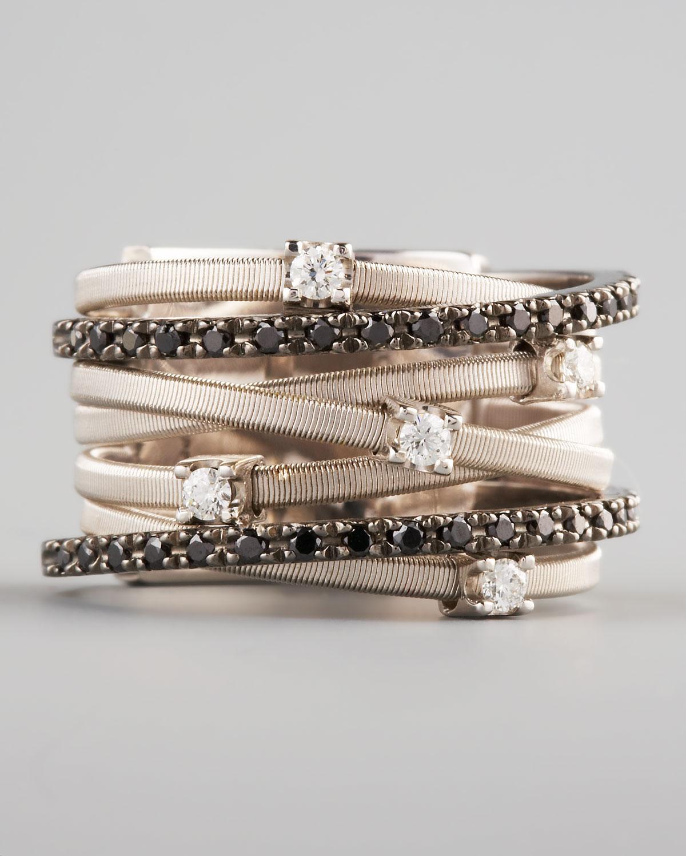 d89c85626 Marco Bicego Goa Black Diamond Ring in Metallic - Lyst