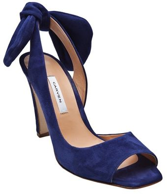 Carven Open Toe Heel - Lyst
