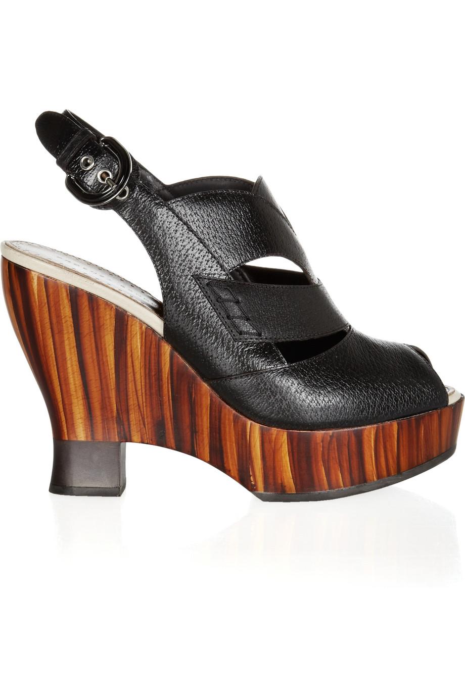Proenza Schouler Cutout Wedge Sandals visit for sale cheap sale real sale shop cheap latest collections cheap 2015 doxXC