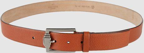 Valentino Belt in Brown for Men