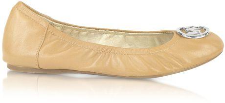 Michael Kors Fulton Ballet Flat Shoes In Pink Blush Lyst