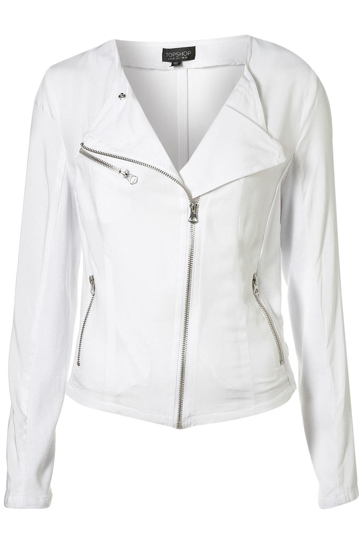 White jacket for women