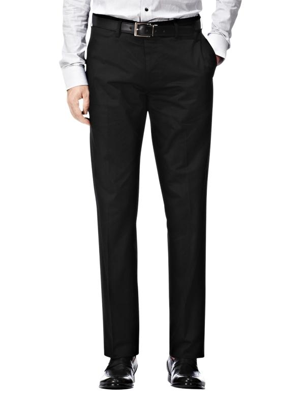 Reiss Promenade Slim Fit Trousers Black for Men