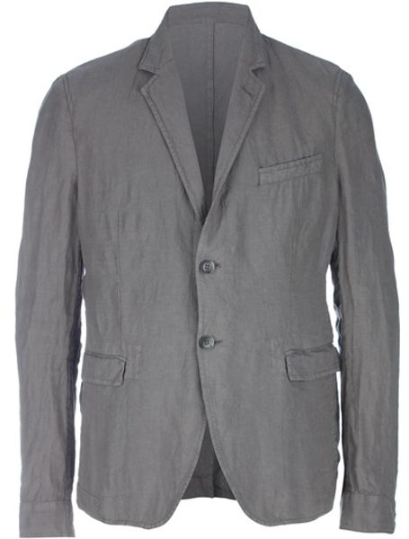 D&g Two Button Blazer in Gray for Men (grey) - Lyst