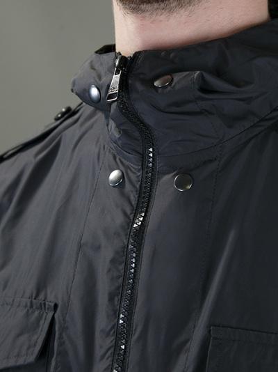 Dolce & Gabbana Parka Jacket in Black for Men