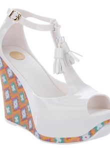 Melissa Peace Wedge Sandal - Lyst
