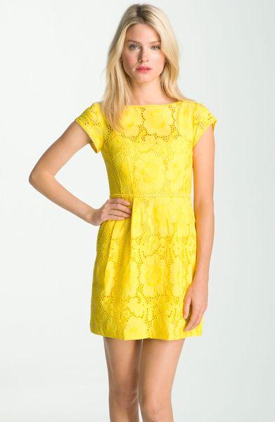 Nanette Lepore Vamos Dress in Yellow (sunflower)