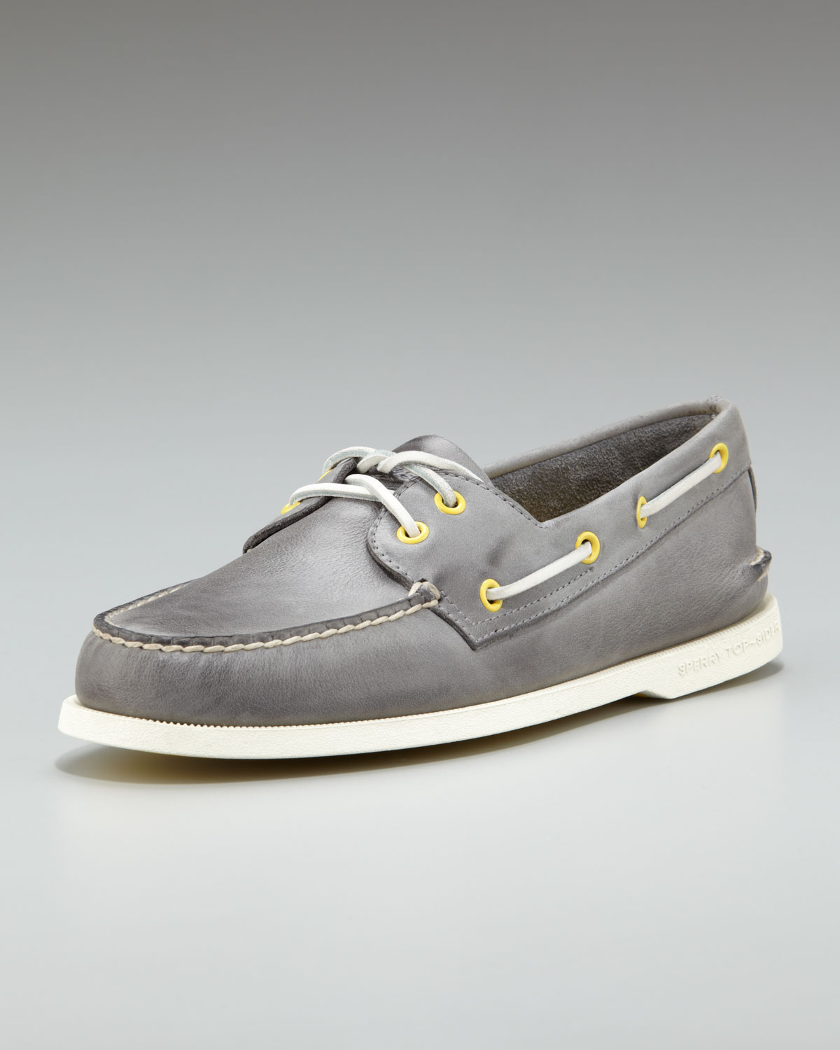Topsider Daytona Boat Shoes In Grey - Grey Sperry Top-Sider LBeQPkup