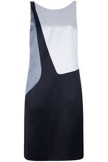 Emporio Armani Panelled Dress - Lyst