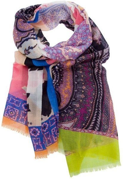 Etro Paisley Scarf in Multicolor (multicoloured)
