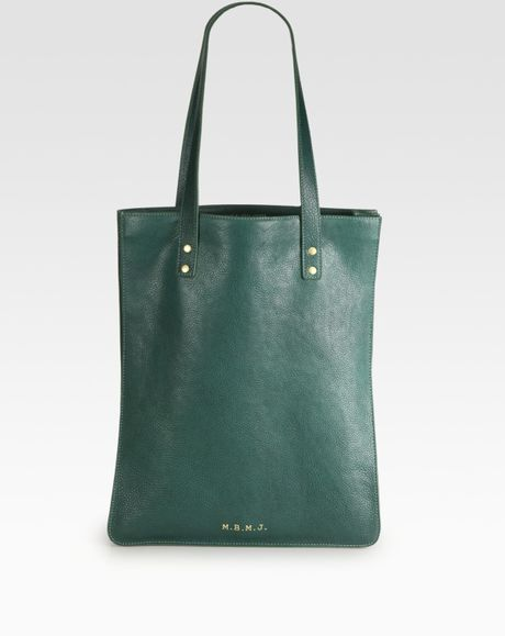 Marc By Marc Jacobs Werdie Boy Shopper in Green for Men (ink)