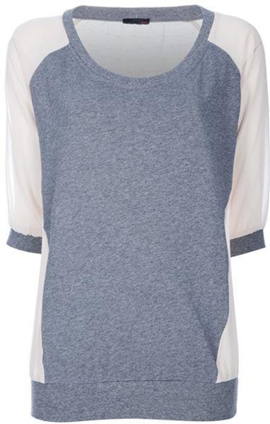 Pinko Renio Sweatshirt in Gray (grey)