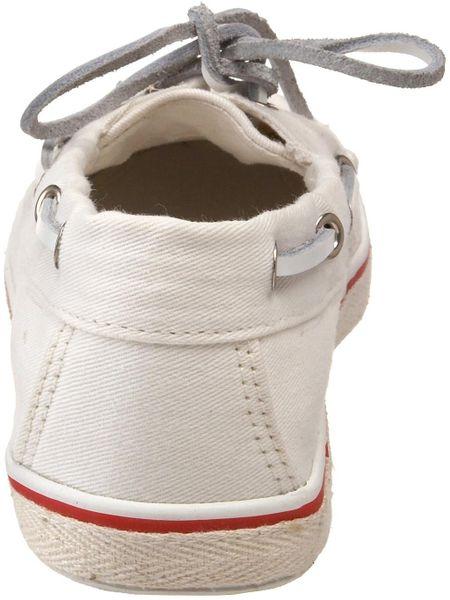 Steve madden white steve madden womens yachtt boat shoe product 2