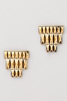 House Of Harlow Pyramid Bar Stud Earrings - Lyst