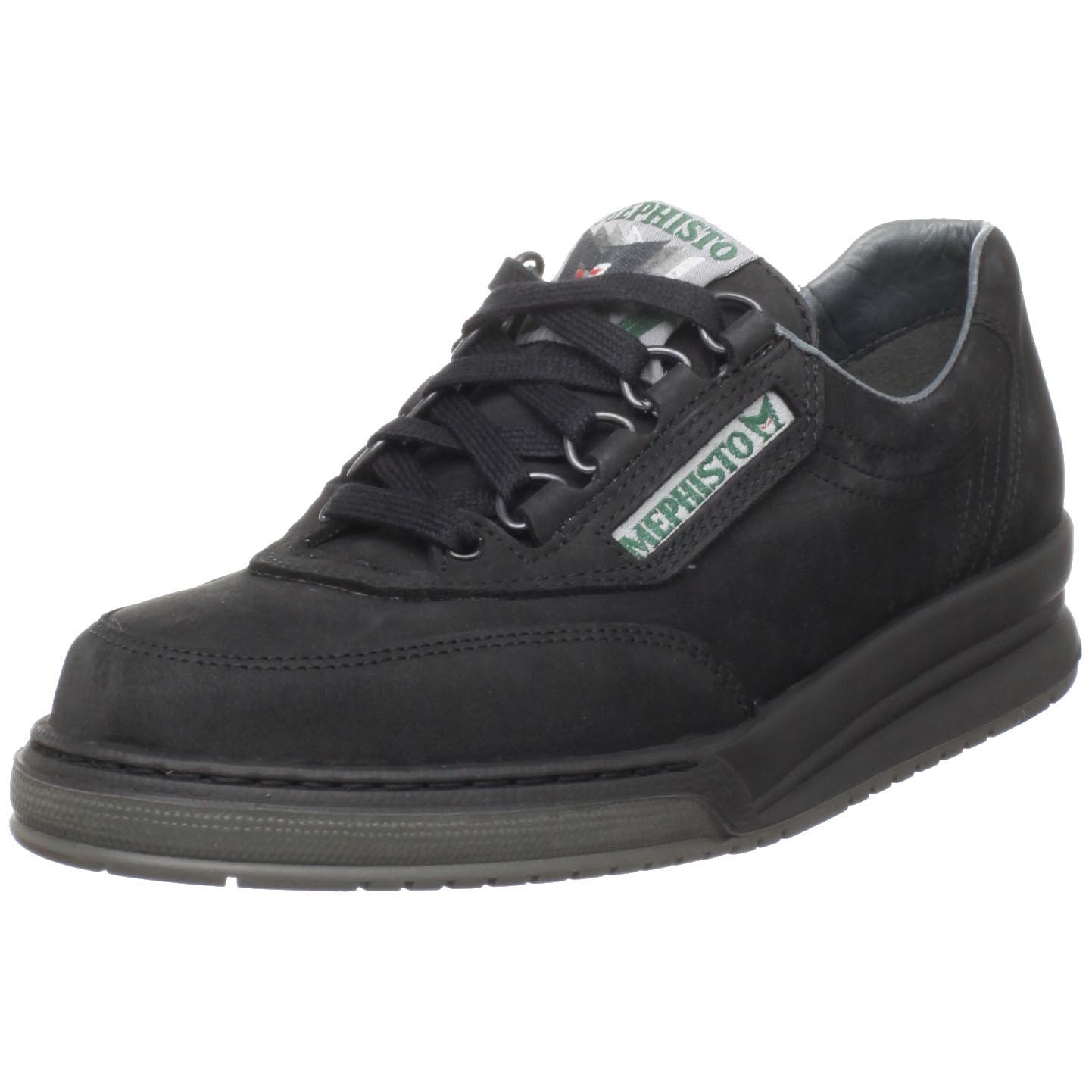 mephisto mephisto womens rushn walking shoe in black