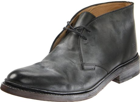 Frye James Chukka Boot In Black For Men Lyst