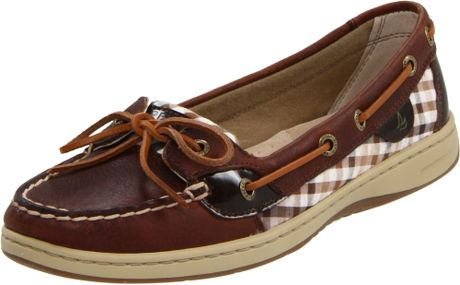 Sperry Top-sider Sperry Topsider Womens Angelfish Shoe in Brown (tan